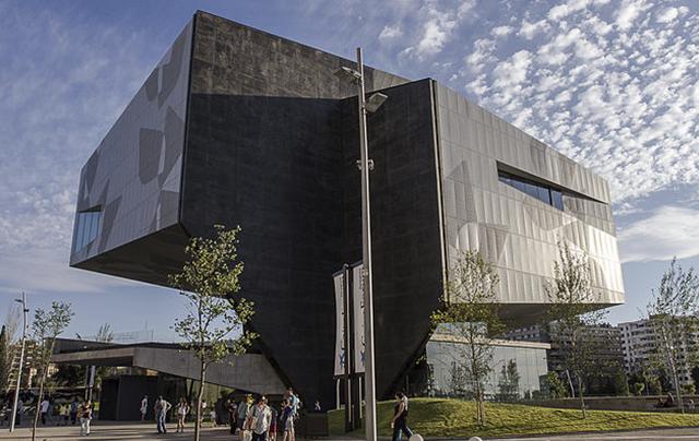 vista completa Caixa Forum Zaragoza