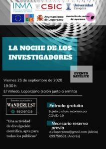 Noche de los investigadores- evento satélite cartel
